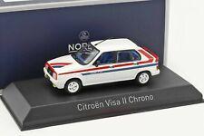 CITROEN VISA II Chrono 1982 White - 1/43 - NOREV