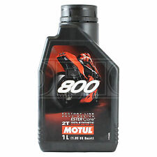 Motul 800 2T Factory Line Road Racing 2 Stroke Motorcycle Engine Oil 1 Litre 1L