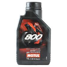 Motul 800 2T Factory Line Road Racing 2 Stroke Motorcycle Engine Oil 1 Litre 1L