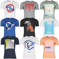 Jack & Jones Herren T-Shirt mit Rundhals kurzarm Sport Clubwear UVP bis 14,99