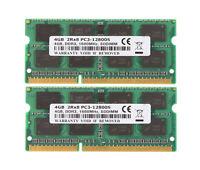 8GB 2x 4GB PC3-12800 DDR3 RAM 1600MHz SODIMM Memory CL11 For Dell Latitude E6430