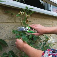 Garden Bypass Pruning Shears 200mm Gardener Gardening Cut Cutting Hand Tool New