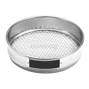 Edelstahl Metall Küchensieb Abtropfsieb-Durchschlag Sieb W7S7 Stielsieb-DE P0F6