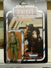 Vintage Star Wars Rebel Commando Figure ROTJ Recarded