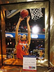 Michael Carter-Williams Syracuse Orange 8X10 Photograph PSA/DNA Autograph Auto