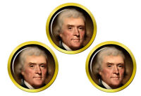 President Thomas Jefferson Marqueurs de Balles de Golf