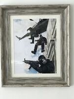 "Sas "" Operation nimrod""Limited edition print"