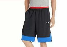 Nike NEW Mens Large L Black Red Blue Athletic Basketball Shorts AJ3914-011