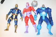 Marvel X-Men Lot of 3 (11 Inch) Action Figures! Magnet, Apocalypse, Cyclops,