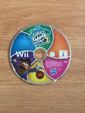 Hasbro Family Game Night 2 for Nintendo Wii *Disc Only*