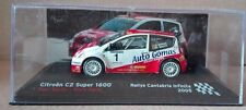 "DIE CAST "" CITROEN C2 SUPER 1600 RALLYE CANTABRIE INFINITA - 2005 "" SCALA 1/43"