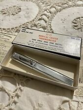 Vintage B-D Medical Center THERMOMETER Twin-Pak No. TM1-218 Case In Box RARE!