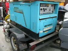 Portable Multiquip Mq Power Duelweld Dc Welder 14kw Diesel Generator Blw 400sw