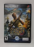 Medal of Honor: Rising Sun PS2 (Sony PlayStation 2, 2003) CIB Complete VG