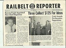 Railbelt Reporter Alaska Railroad McKinley Route Newletter 1957