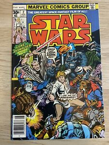 Star Wars 2 1977 1st Print (First Han Solo and Chewbacca)