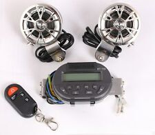 Waterproof Radio Audio Speaker MP3 Stereo Amplifier W/Remote For Boat Marine ATV