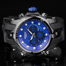 INFANTRY Herren Analog Digitaluhr Armbanduhr Uhr LED Alarm Datum Fliegeruhr Blau
