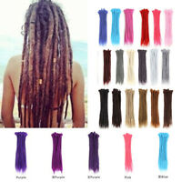 Hiphop Ombre Synthetic Braid Dread Natural Textured Dreadlock Hair Extension New