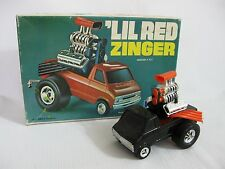 VINTAGE MPC LIL RED ZINGER TRUCK with ORIGINAL BOX..ASSEMBLED