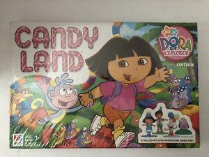 2005 Milton Bradley Candy Land Nick Jr Dora The Explorer Board Game Brand New
