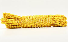 1/5/20/100M Twist Nylon Rope String Cord Twine Rope Bracelet Synthetic Silk 5mm