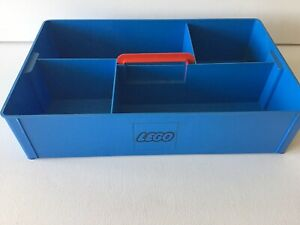 Lego Sortierkasten,alt,blau,70er,Sortierbox