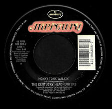 "KENTUCKY HEADHUNTERS ""HONKY TONK WALKIN'/Redneck..."" MERCURY 864808-7 (1993) 45"