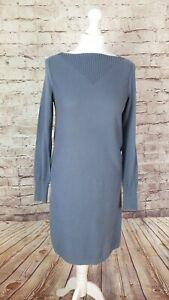 Gap Jumper Dress Dusty Blue, Cotton with Silk, Size M