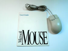 Microsoft Vintage Classic Mouse 2.1A Used with Manual