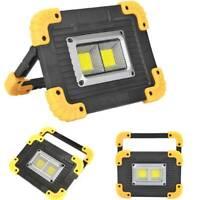 Portable Working Lamp USB Rechargeable Spotlight Outdoor Emergency Light lot UK