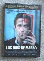 LOS IDUS DE MARZO (THE IDES OF MARCH. GEORGE CLOONEY, RYAN GOSLING). DVD NUEVO!
