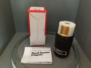 Pass & Seymour, Legrand Turnlok Connector, 50A, 3P, 4W, 600VAC, 3764NP
