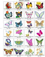 600 BUTTERFLIES, BEE  DRAGONFLY BROTHER EMBROIDERY MACHINE DESIGN COLLECTION PES