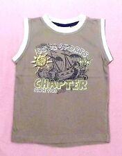 100% Baumwolle Markenlose Ärmellose Jungen-T-Shirts,-Polos & -Hemden mit Motiv