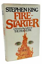 Firestarter Signed Stephen King PSA DNA Certified Rare Book First Edition