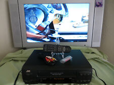 JVC HR-A51U VHS VCR Player Recorder HiFi w/ Remote Batteries and Cables