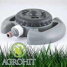 8-Funktionen Rasensprenger Sprinkler Regner Bewässerung Impulsregner Kreisregner