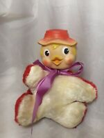 Vintage Rubber Face Plush My Toy Duck