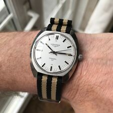 Superb vintage 1972 Munich Olympic games Longines Admiral HF swiss made watch