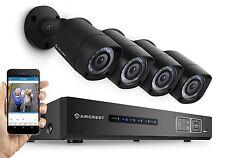 Amcrest 1080P 8CH HDCVI Eco CCTV Security System 4 x HD Bullet Cameras 2TB DVR