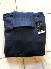 NWT GOCHU men's turtle neck sweater Navy Blue Color knitted classic fit size 2XL