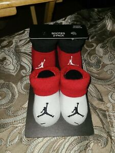 Air Jordan Baby Booties 2-Pack 0-6 Months