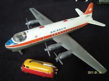Schuco radiant Vickers Viscount swiss air sin camión cisterna!
