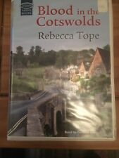 BLOOD IN THE COTSWOLDS AUDIO BOOK CASSETTE TAPES BOX SET Ex Rental Rebecca Tope