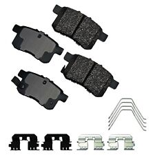 Disc Brake Pad Set-Performance Ultra Premium Ceramic Pads Rear Akebono ASP1336A