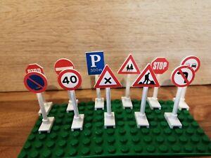 VINTAGE 1989 LEGO 6315 STREET SIGNS (NO BOX)