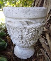 """Latex only planter mold 5""""H"""" x 3.5"""" W at top planting area is 3"""" W x 3"""" deep"""