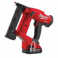 Milwaukee M18FNCS18GS-202X 18v Fuel Narrow Crown Stapler With Batteries Charger