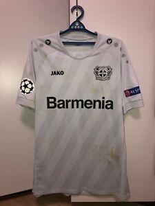 Match worn shirt Bayer Leverkusen Germany jersey size XL, season 2019/2020